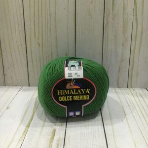 lana himalaya dolce merino verde