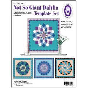 Conjunto de Plantillas Giant Dahlia