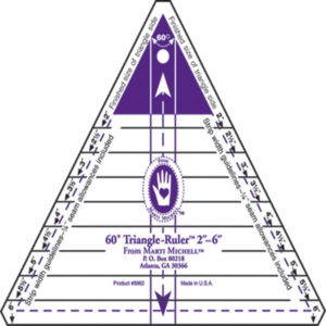 Regla 60º Triangle-Ruler