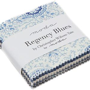 Mini Charm Regency Blues