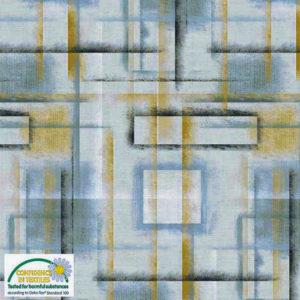 Tela Colour Brush azul de Stof Fabrics