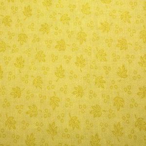 Tela Estampada con el fondo amarillo