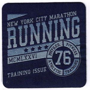 Aplicación termoadhesiva Running