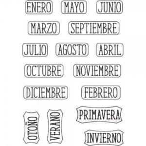 sellos meses y estaciones