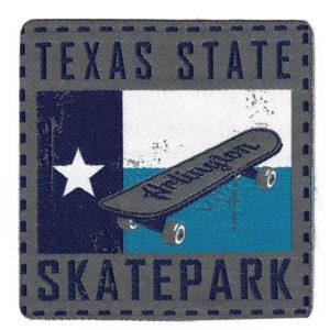 Aplicación termoadhesiva Skate
