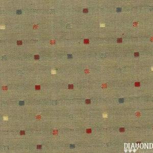 Tela Japonesa color gris con cuadraditos