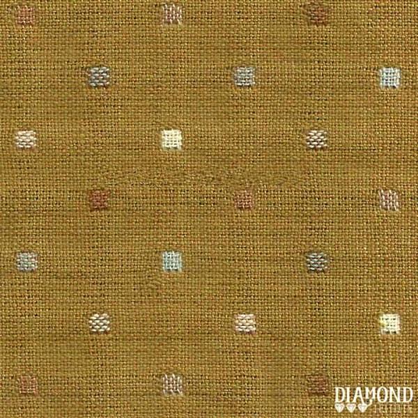Tela Japonesa color marrón con cuadraditos