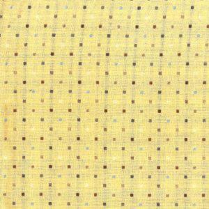 Tela Japonesa color beige con cuadraditos
