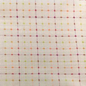 Tela Japonesa color tostado y multicolor