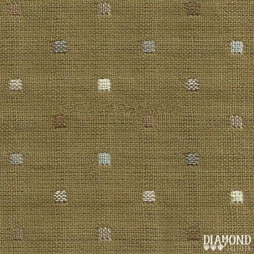 Tela Japonesa color marrón con cuadraditos pequeños
