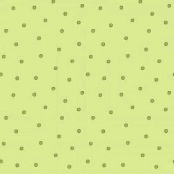 Tela Estampada Círculos verde Sunlit Blooms