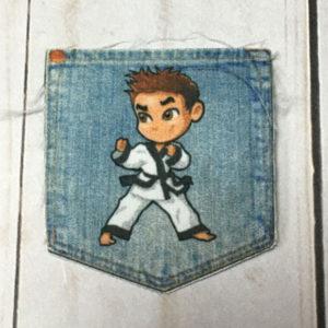 Bolsillo Niño Karate
