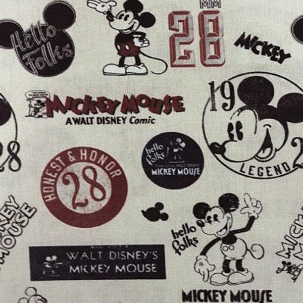 tela vintage-mickey
