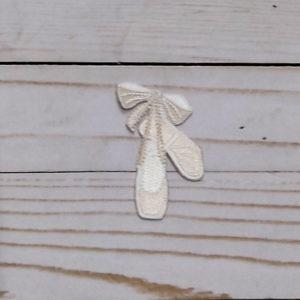 Zapatillas de Ballet blancas con brillo