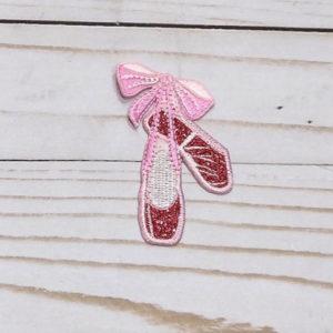 Zapatillas de Ballet rosas con brillo