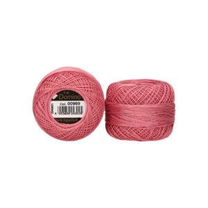 Dominó-8-rosa-vintage