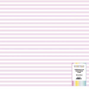 acetato impreso rayas rosas