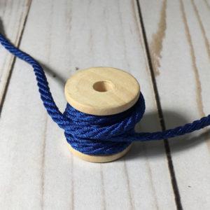 Cordón de rayón grueso azul