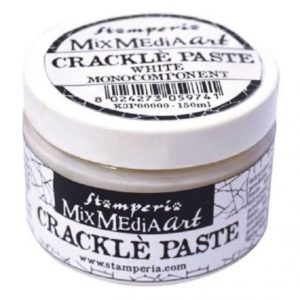 crackle paste blanco