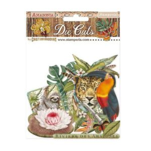 die cuts chipboards amazonia