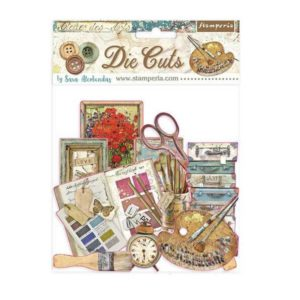 die cuts chipboards atelier des arts
