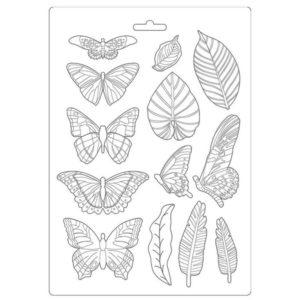 moldes pvc mariposas y plumas