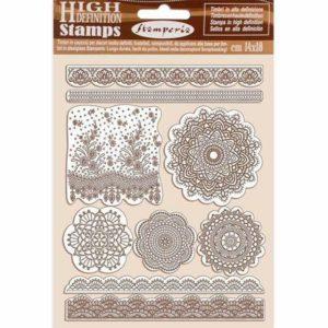sellos de caucho lace