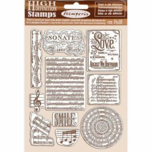 sellos de caucho music