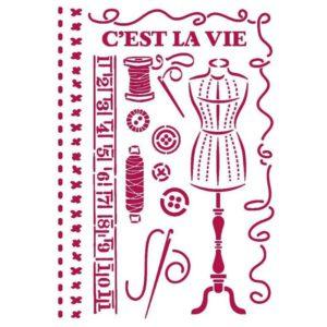 stencil costura threads