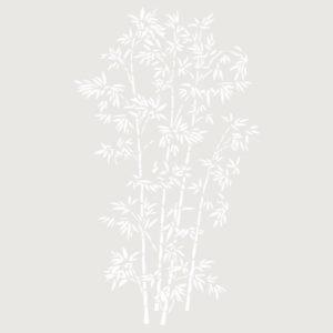 stencil deco floral ramo hojas