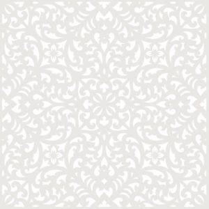 stencil deco fondo floral