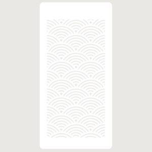 stencil deco lineas curvas