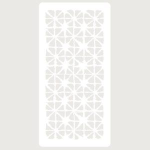 stencil deco scrapbooking