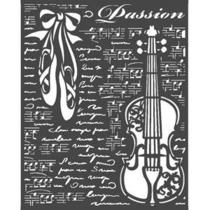 stencil music ballet