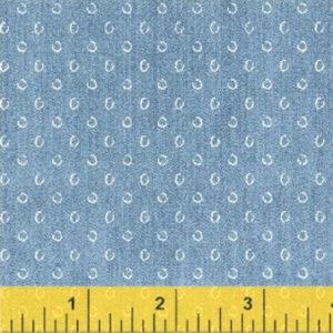Tela Atlas azul vaquero de Windham Fabrics