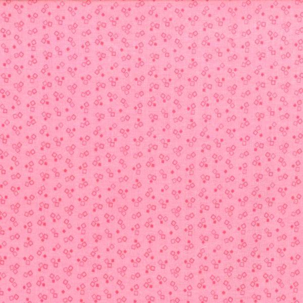 Tela geométrica rosa Bear Essentials