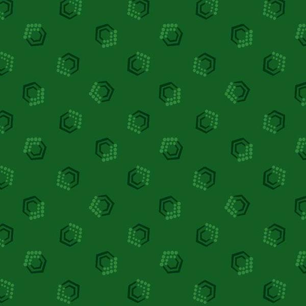 Tela Estampada color verde musgo Bear Essentials
