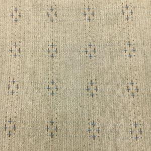 Tela Japonesa gris cruces