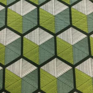 Tela Parson Gray Vagabond verde