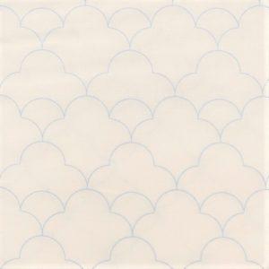 tela estampada thrive blanco