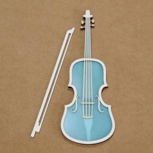 Shaker violín
