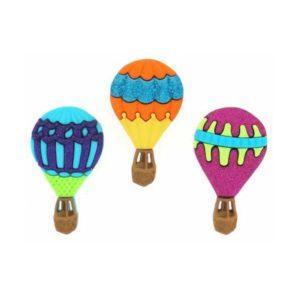 botones globos aerostáticos