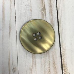 Botón grande marrón