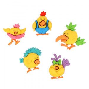 Botones Pájaros