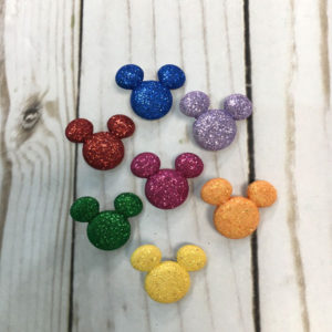 Botones Silueta Mickey Mouse