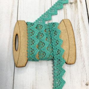Cinta para mercería verde turquesa