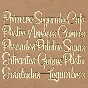 Maderita Frases de Cocina