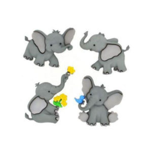 Botones Elefantes de Dress it Up