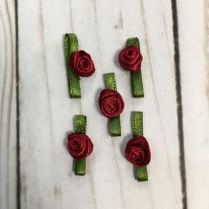 Pack Aplicaciones flores granates