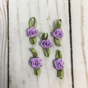 Pack Aplicaciones flores lila
